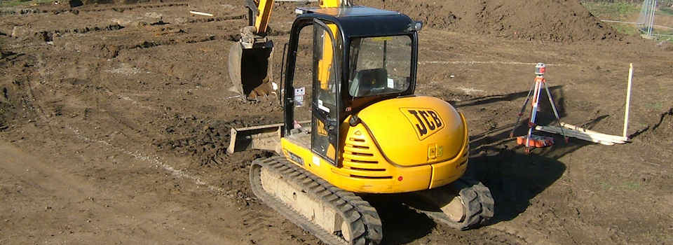 Local Groundworks Specialists across Suffolk, Cambridgeshire, Norfolk, Essex, Hertfordshire and North London