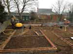 Bedford, Bedfordshire: Civil Engineering for new estate of 7 homes