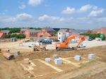 Mawsley, Northamptonshire: Road Building and Housing Foundations