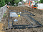 Soham, Cambridgeshire: Preparations for Reinforced Foundations