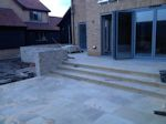 Ely, Cambridgeshire: New Build, Patio and Steps