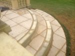 Rushden, Northamptonshire: Patio Steps leading down to the Garden